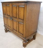 Antique Style Reproduction TV Cabinet Cupboard - SOLD